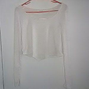 Olivia rae xl  long sleeve crop top